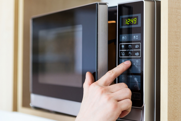 Microwave buttons not working