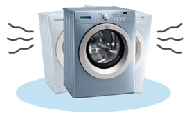Washer vibrating or shaking San Diego