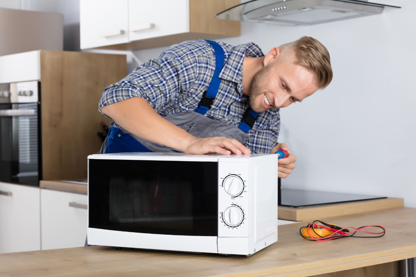 microwave-Installation
